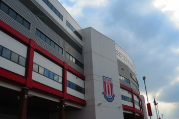 Picture of the outside of Stoke City FC stadium